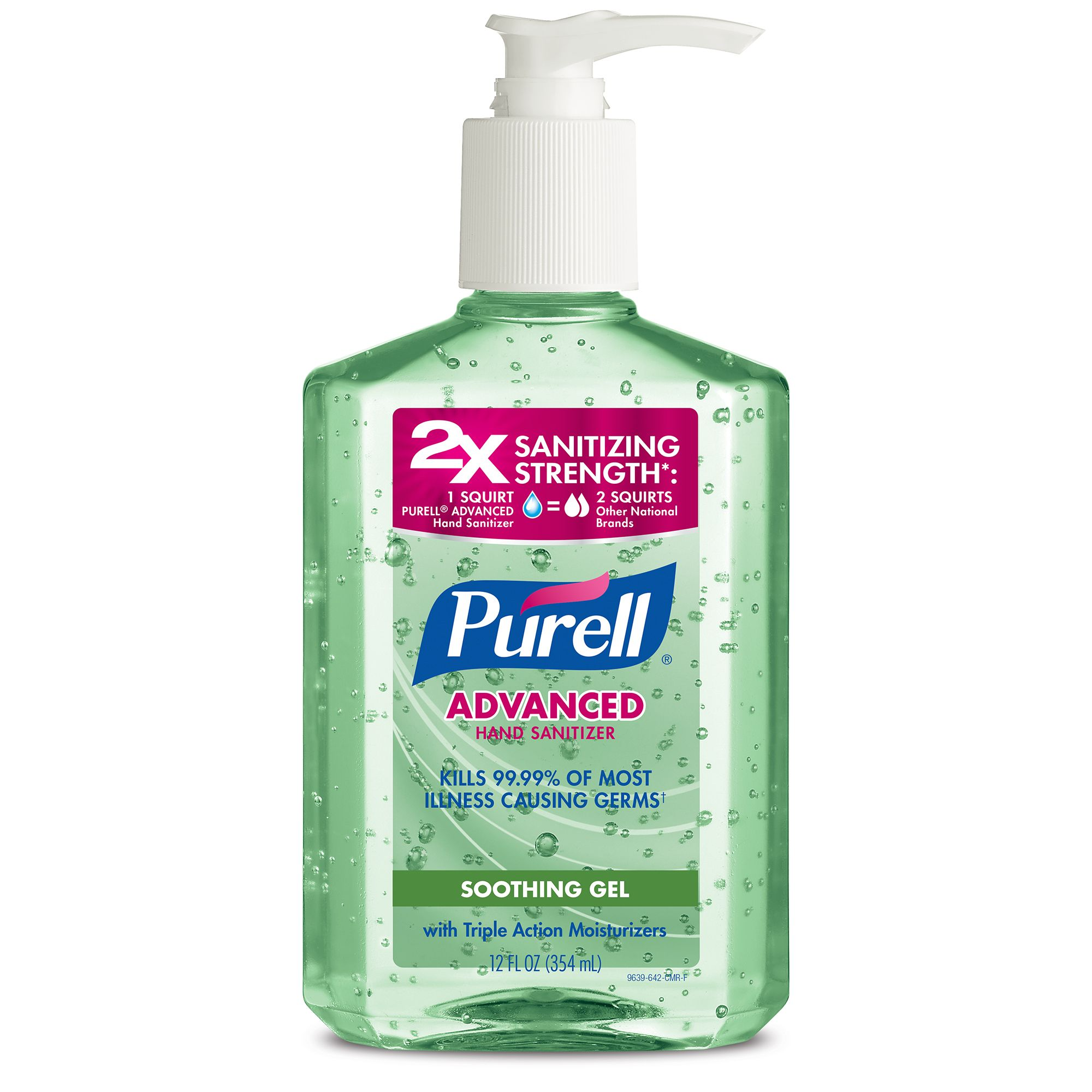 Details About Purell Hand Sanitizer 8oz 2x Sanitizing Strength