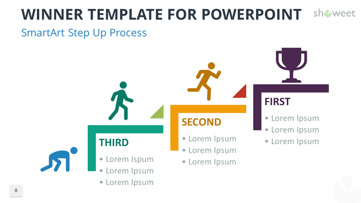 Winner Templates For Powerpoint  Template And Slide Design