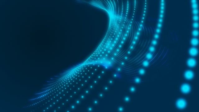 Free Particles Blue Wallpaper Background Blue Wallpapers Video Background Wallpaper Backgrounds
