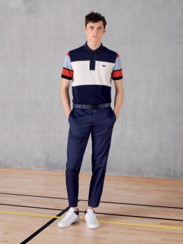 Lacoste Delivers Fitted Classics for Spring Ads   Polo   Pinterest ... 043d94b752