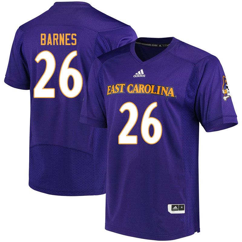 Men #26 Asa Barnes ECU Pirates College Football Jerseys ...