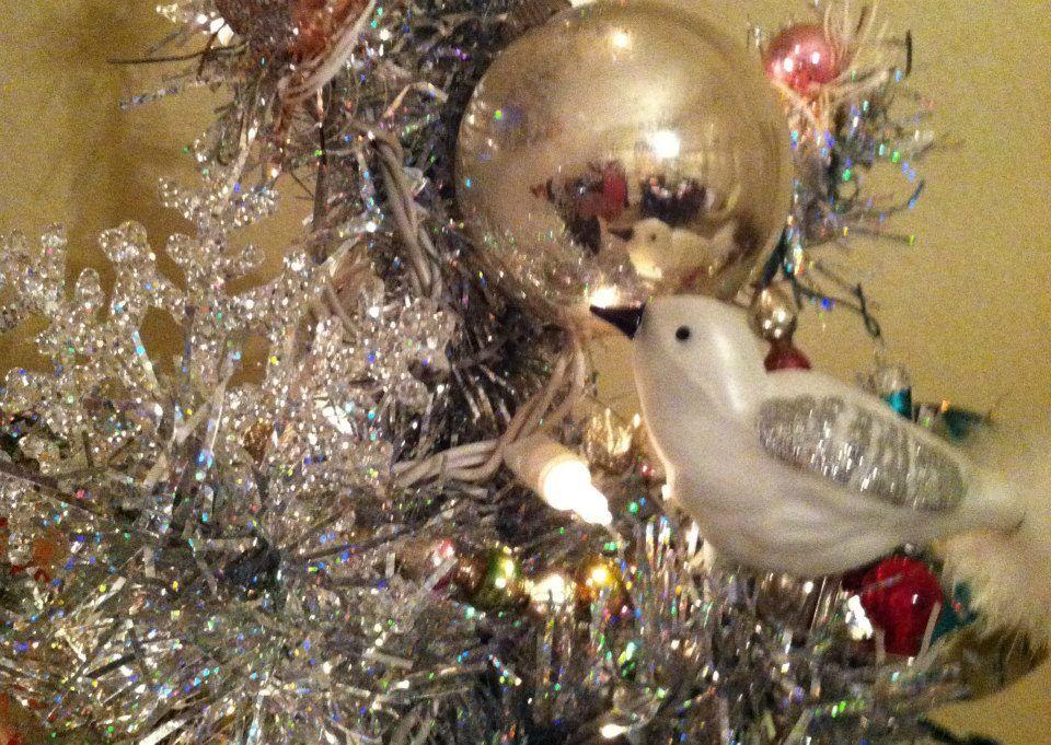 Cindy Lewton's vintage Christmas tree