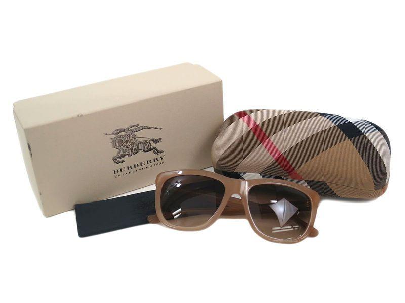 0839c4c139c  Burberry Sunglasses Plastic Beige Brown B 4130-A (BF107220)