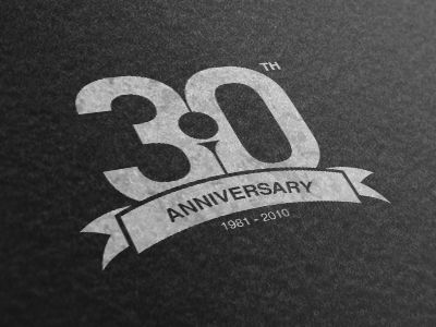 30th anniversary 30th anniversary anniversaries and anniversary logo