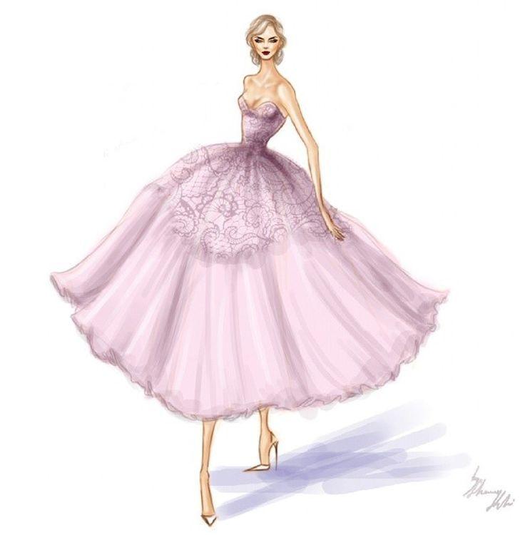 LA VIE EST BELLE   Fashion drawings   Pinterest   Figurines de moda ...