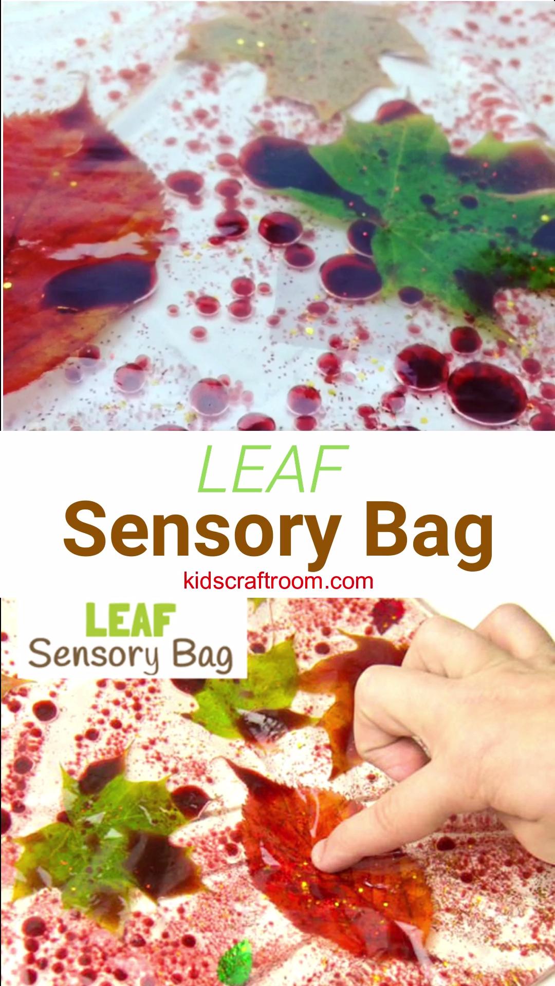 Leaf Sensory Bag