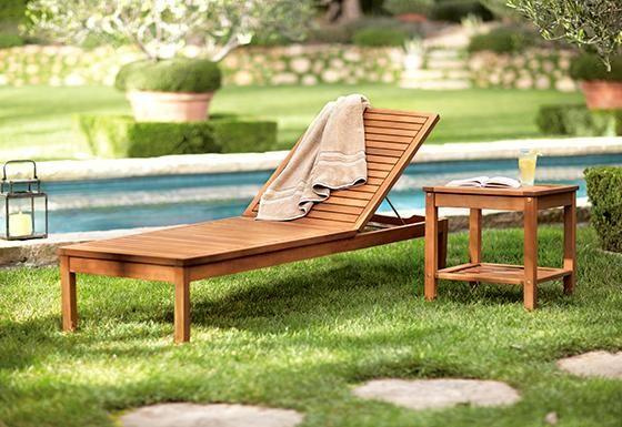 Martha Stewart Living™ Lake Carolina Chaise | Patio chaise ... on Martha Stewart Living Chaise Lounge id=82881