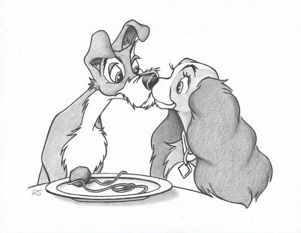 lady and the tramp coloring pages - Google Search | Puppy | Pinterest