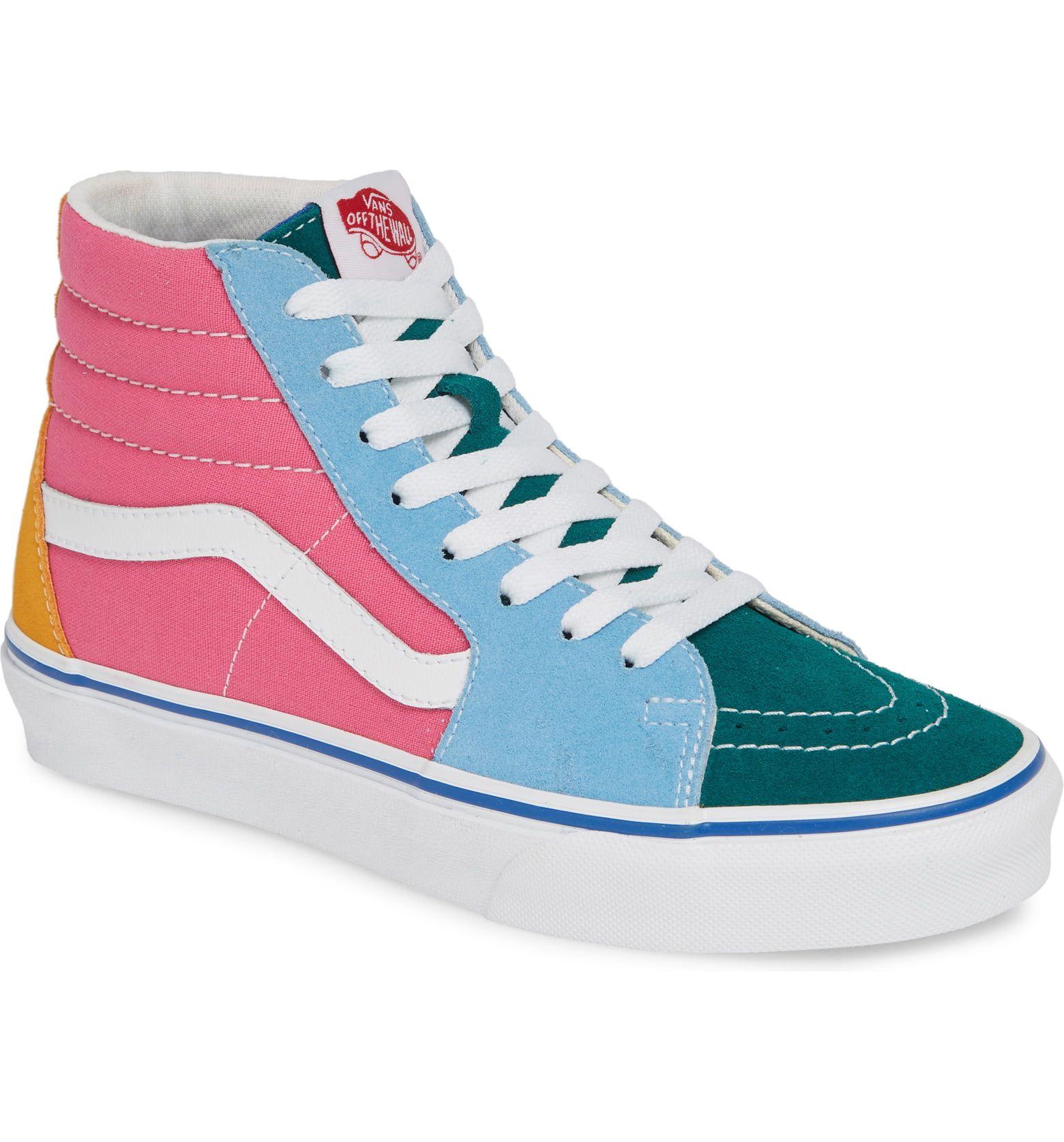 Vans Sk8-Hi Colorblock Sneaker (Women