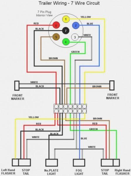 Gooseneck Wiring Diagram Pkw Anhanger Anhanger Auto Wohnwagen