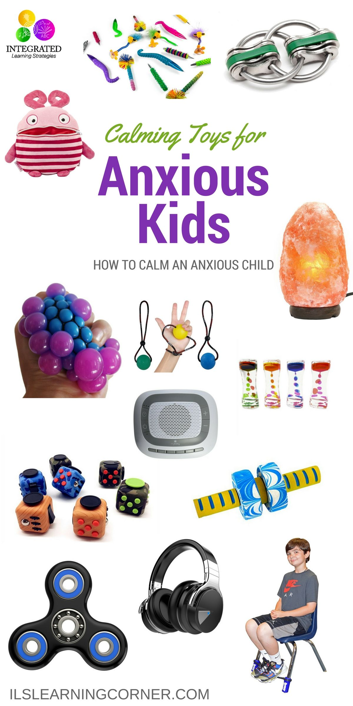 Anxious Child Toys for Anxious Children Self Regulation and