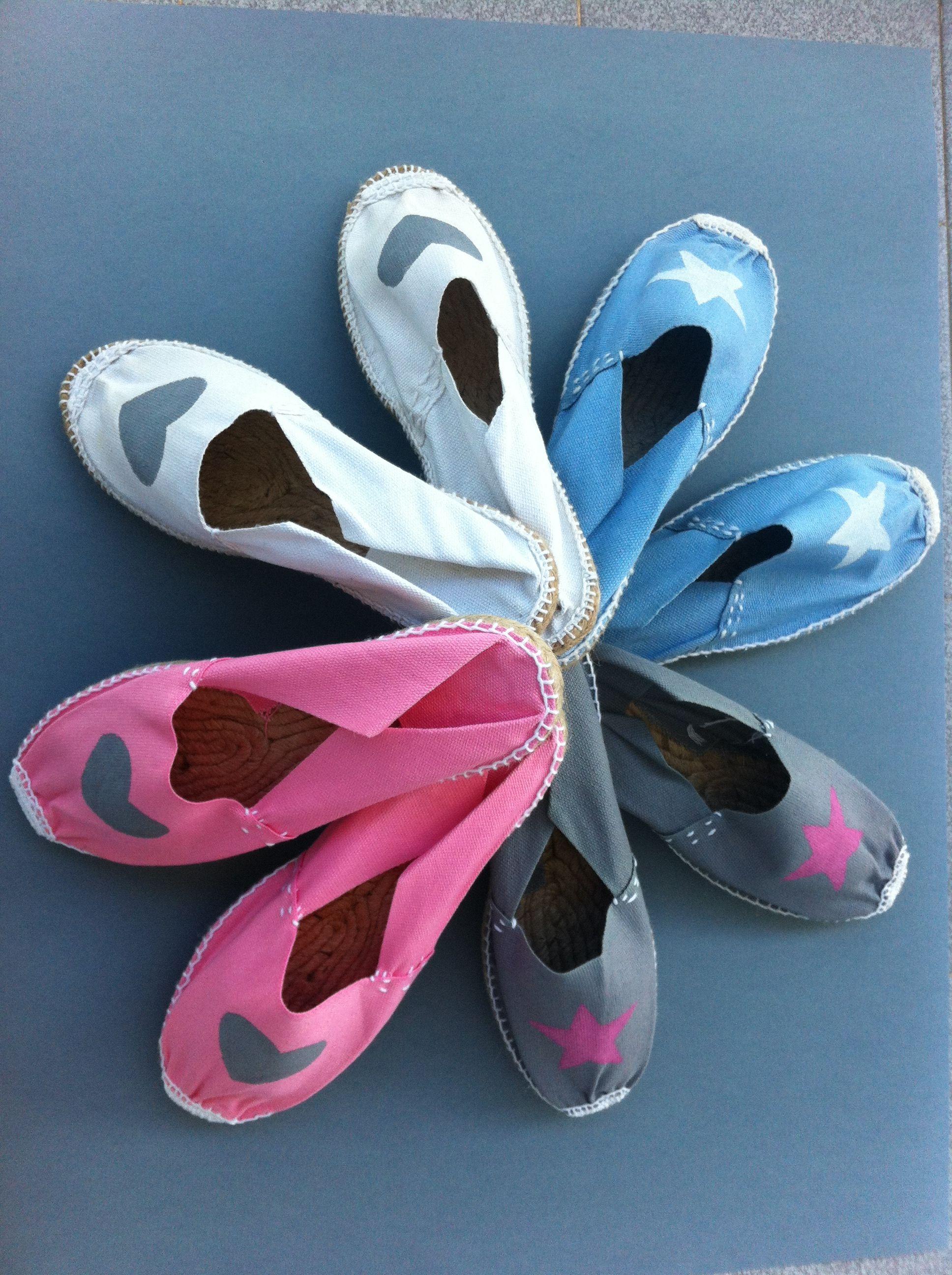 Alpargatas zapatillas de playa diy pinterest craft - Vanesa pascual ...