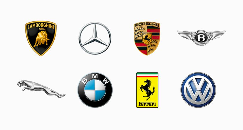 Top 25 Car Logos Of All Time Car Logos Car Emblem Logos