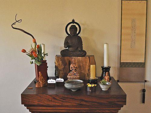 japanese meditation altar - Buscar con Google   yoga   Pinterest ...