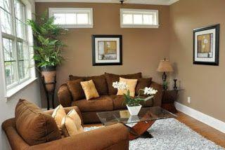 Wohnzimmer Gestalten Braun Tönen