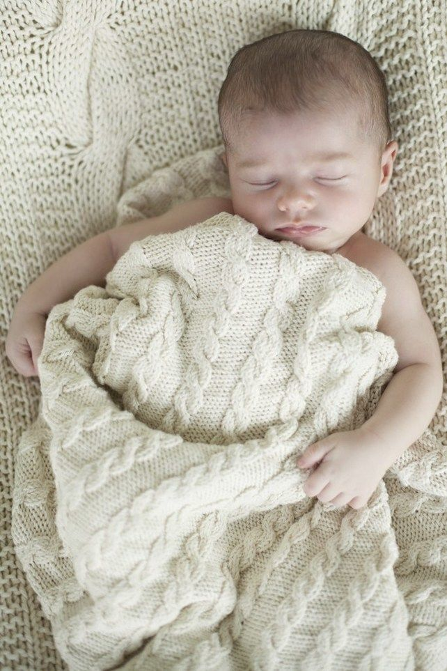 Knitted baby blankets are a big draw at A Good Yarn Shop in ...