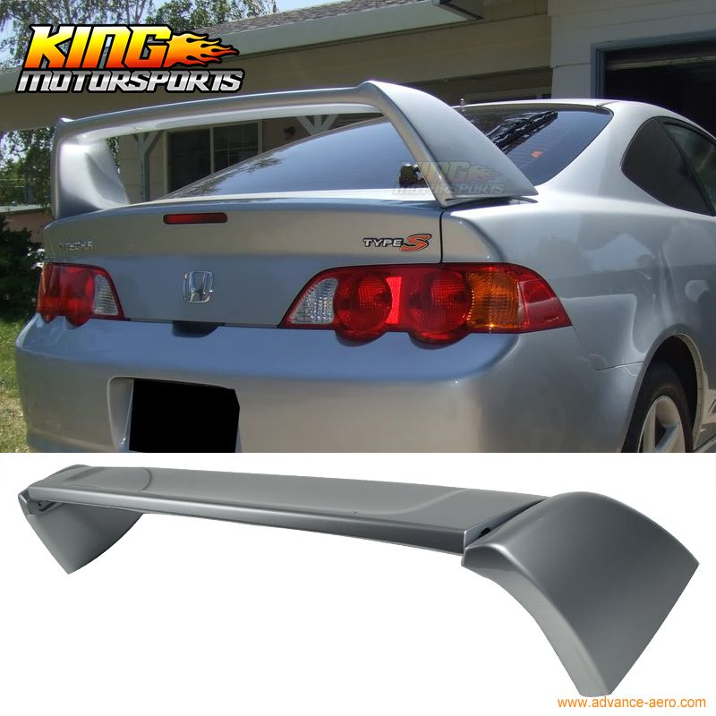 For 0206 ACURA RSX DC5 Type R Trunk Spoiler Painted Satin