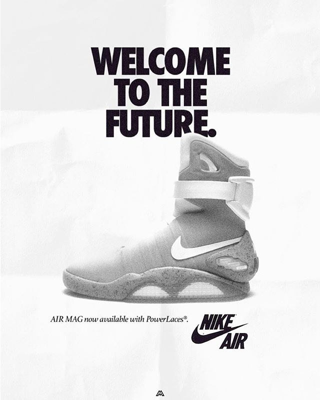 best service e13aa efa3d Welcome to The Future - Nike Air Mag
