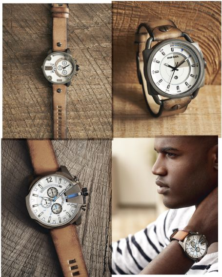 Great gift for guys: Diesel watch.