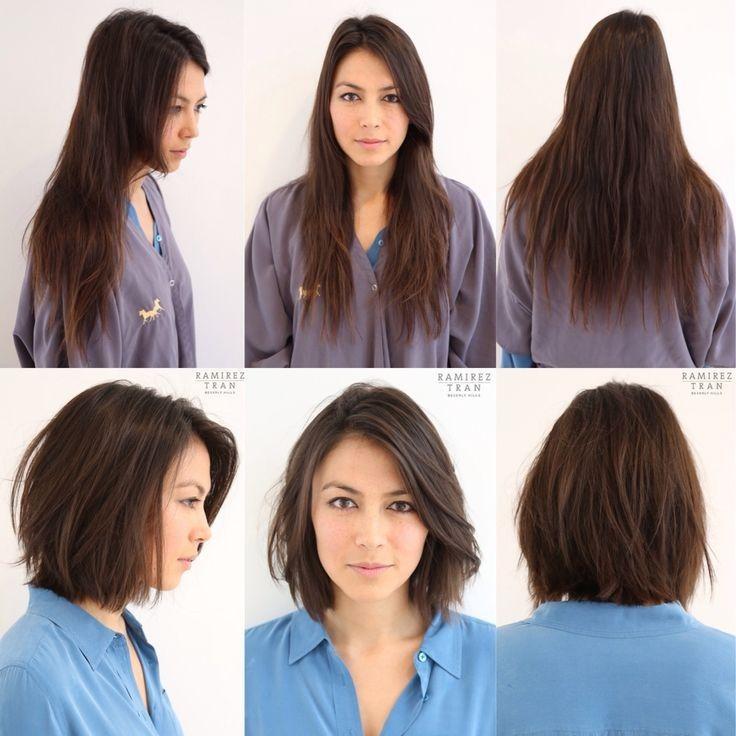 30 Photos Avant Apres Coupes Cheveux Pour Vous Inspirer Relooking Coiffure Coupes De Cheveux Avant Apres Coupe De Cheveux