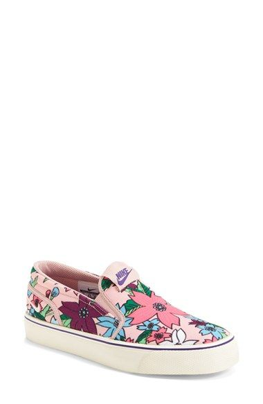 Nike  Toki  Print Slip-On Sneaker (Women) available at  Nordstrom ... 7a03712c7