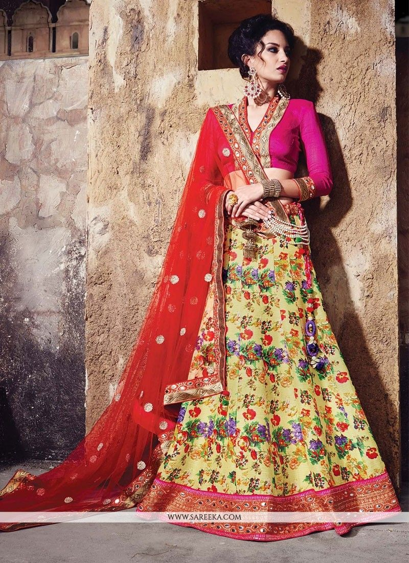 44c620ff52 Fashion and pattern will be at the peak of your elegance as soon as you  dresses this multi colour fancy ...