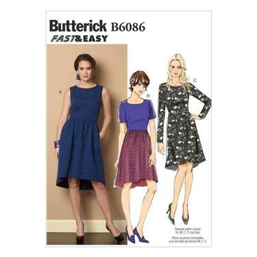 Butterick B6086 Misses\' Dress   Spotlight Australia   Spotlight ...