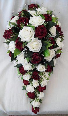 Bouquet Artificial Wedding Flowers Teardrop Bouquet For Bride