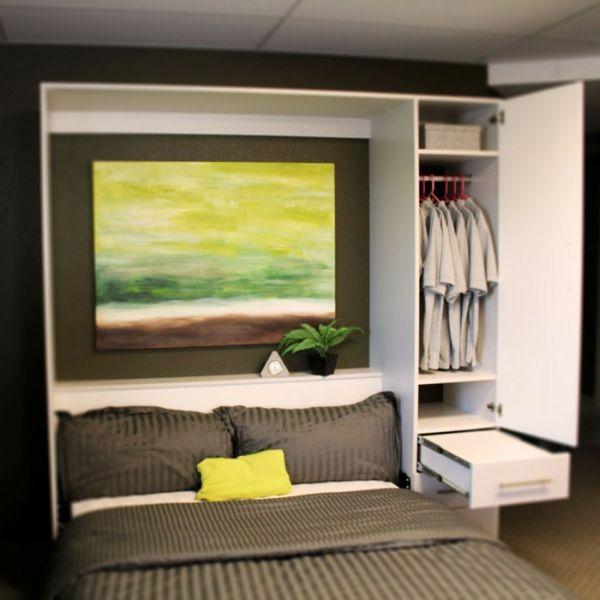 L\' armoire lit escamotable pour plus d\'espace - Archzine.fr | Condos ...