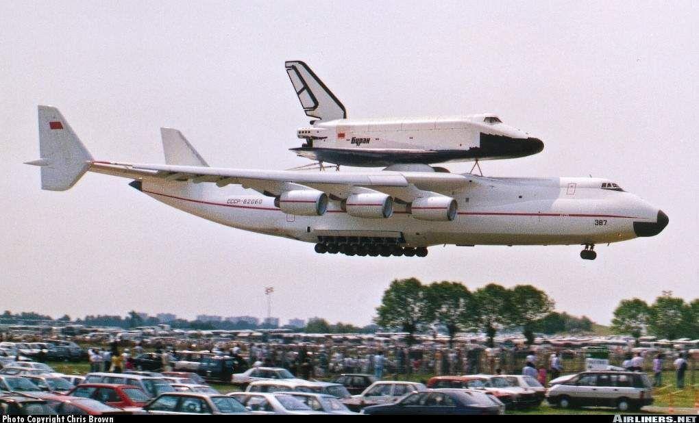 Details About An 225 Antonov Piggyback Space Shuttle Buran
