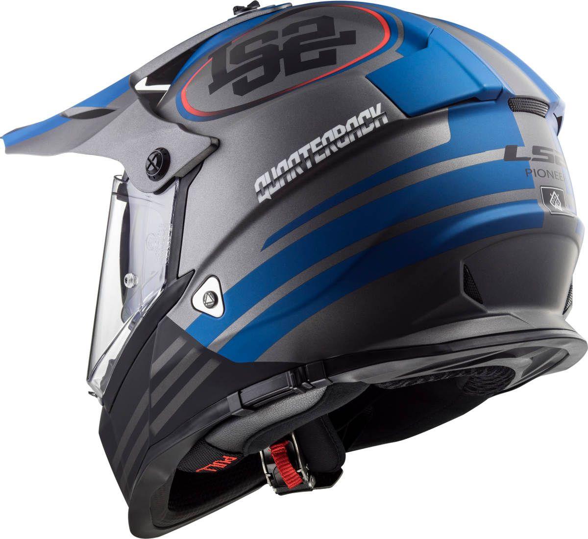 New LS2 Pioneer Dual Sport Helmet Colours Dual sport