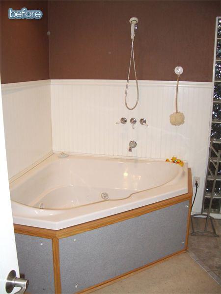 On The Prowl Better After Corner Bathtub Decor Tub Remodel
