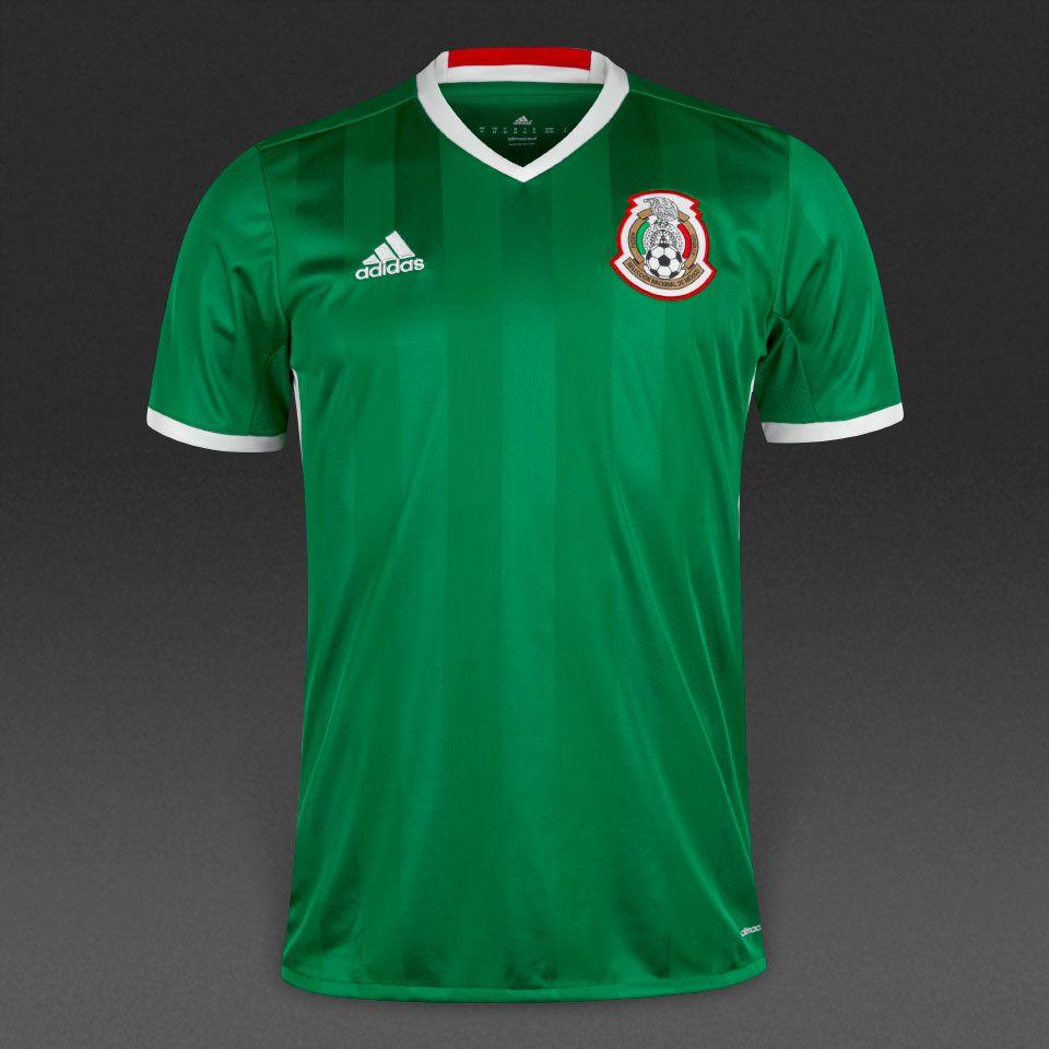 ... adidas Mexico Home Shirt - GreenRedWhite