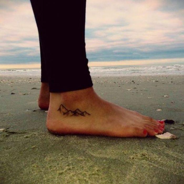 ▷ 1001 + dessins originaux de tatouage montagne | lifestyle