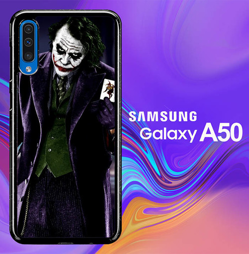batman joker wallpaper Y0470 Samsung Galaxy A50 Premium Case