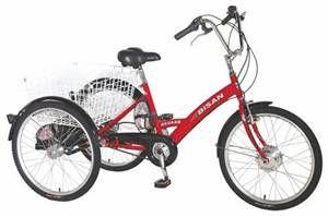 Bisan E-Bazaar  Üç Tekerlekli Elektrikli  Bisiklet