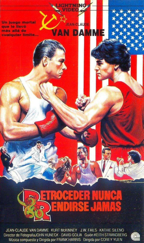 Retroceder Nunca Rendirse Jamas No Retreat No Surrender 1986 Karate Movies Martial Arts Movies Iconic Movie Posters