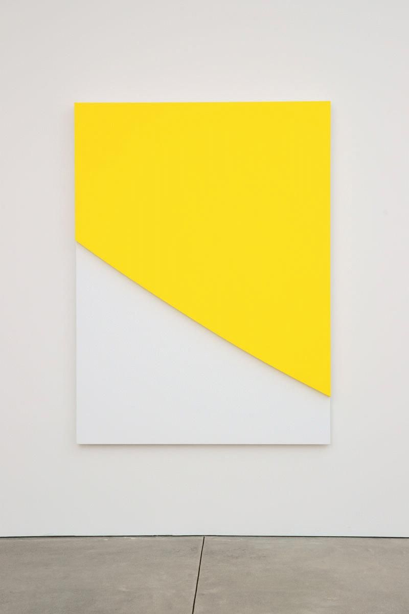 Ellsworth Kelly, Yellow Curve in Relief, 2009   STEAL MY SUNSHINE ...
