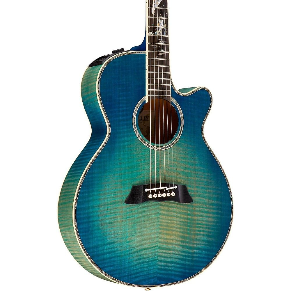 5f32e30f2a8 Takamine 2016 Limited Edition Decoy Acoustic-Electric Guitar Green ...