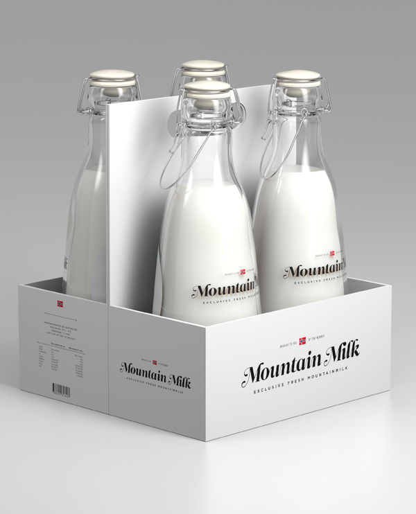 Mountain Milk Packaging