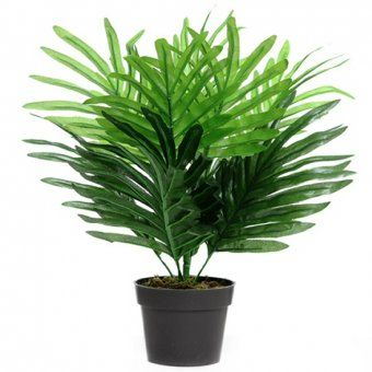This Artificial Palm Plant Is Ideal For Brightening Up The Home Or Office And Is Supplied In A Black Plastic Pot Www Ukgd Co Uk Palm Plant Plants Plants Uk