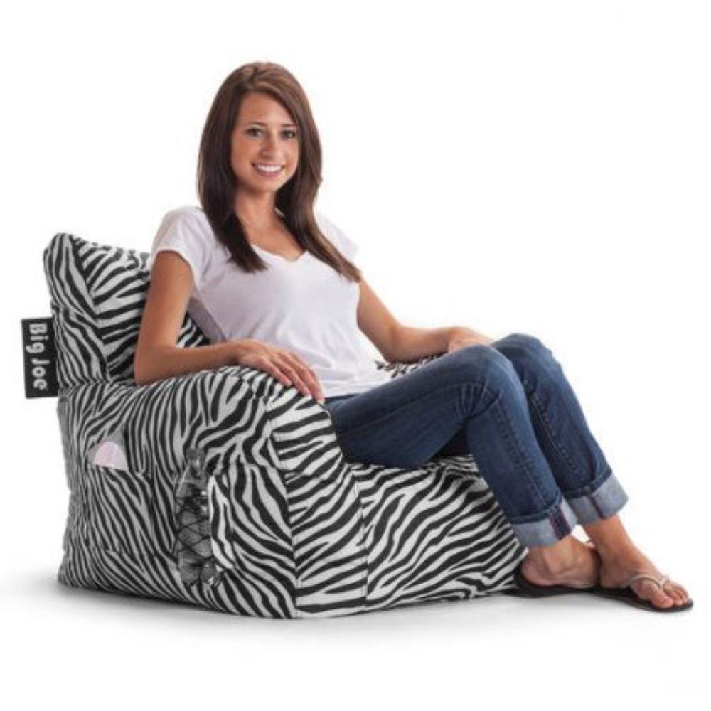 Big Joe Bean Bag Chair Dorm Room Waterproof Lounge Comfort Kids Bedroom Original