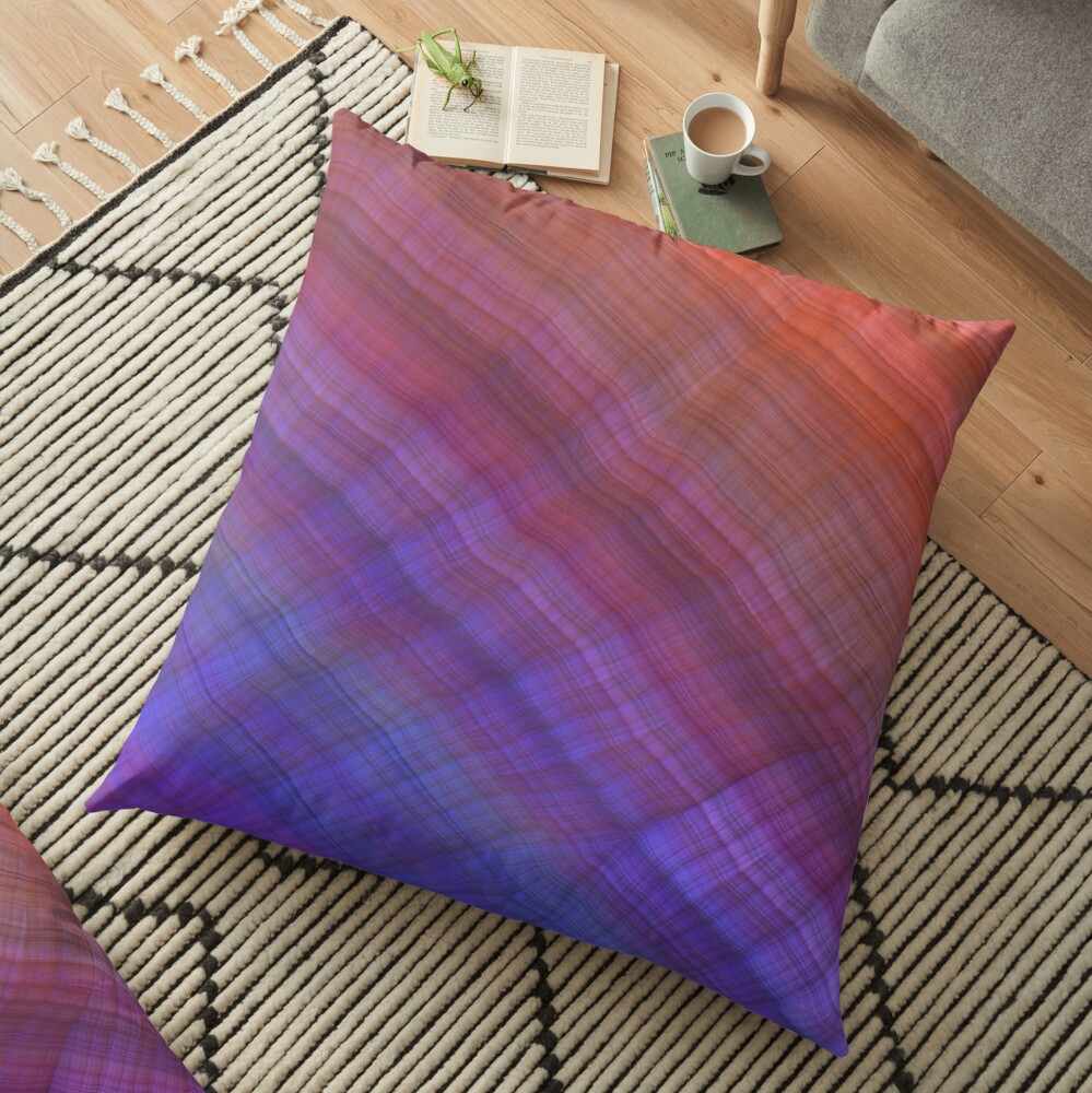 Pretty Geology | Floor Pillow in 2020