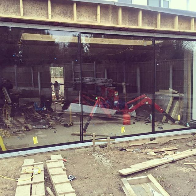 The Bi-fold Door Factory Ltd managed the successful installation of ...