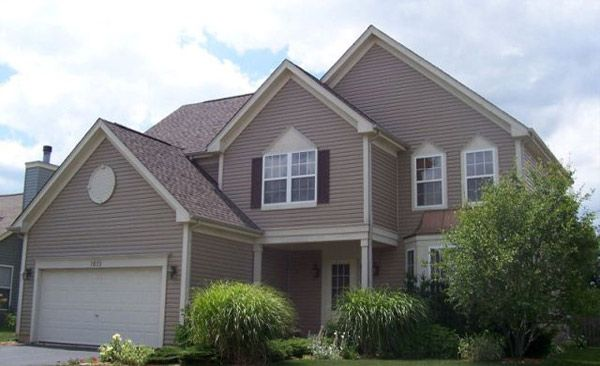Best Pebble Clay Siding Gaf Mission Brown Roof Home 400 x 300