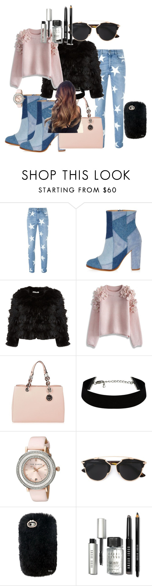 """Cool boots"" by dzenita-219 on Polyvore featuring STELLA McCARTNEY, River Island, Alice + Olivia, Chicwish, MICHAEL Michael Kors, Ted Baker, Christian Dior, Bobbi Brown Cosmetics, women's clothing and women"