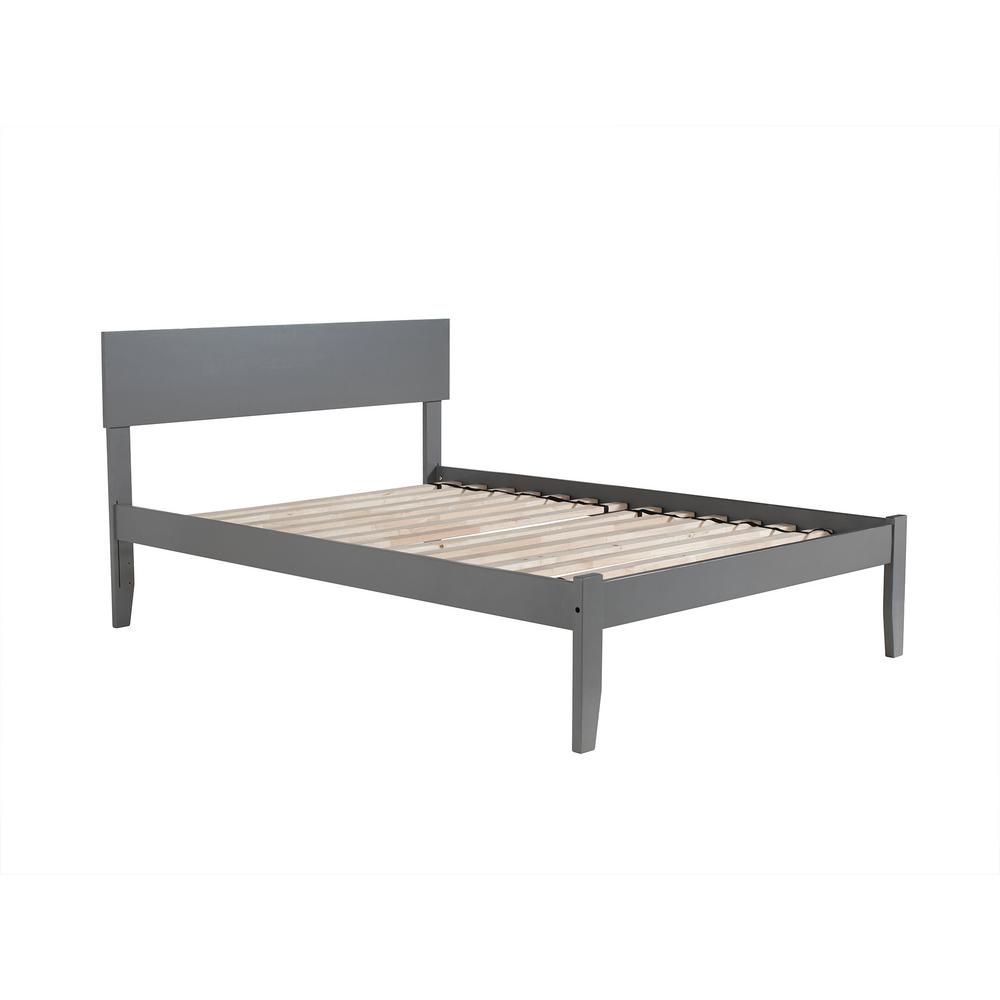 Atlantic Furniture Orlando Full Platform Bed With Open Foot Board