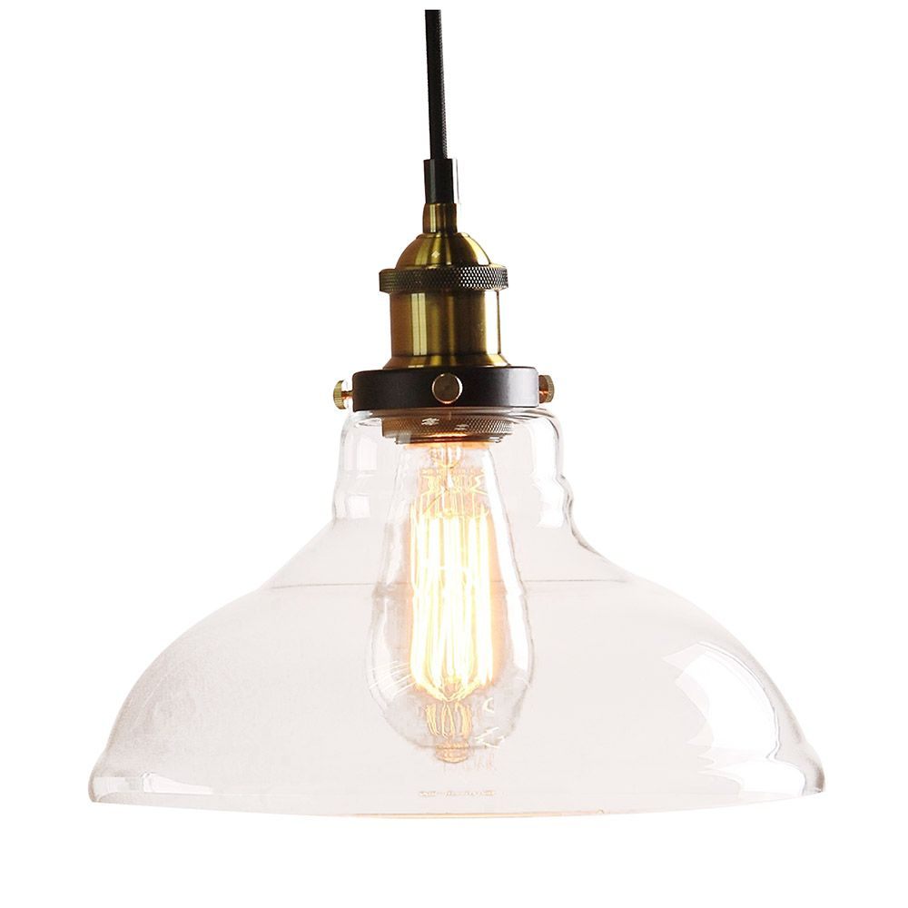 Modern vintage industrial metal bronze glass ceiling lamp shade modern vintage industrial metal bronze glass ceiling lamp shade pendant light affiliate aloadofball Image collections