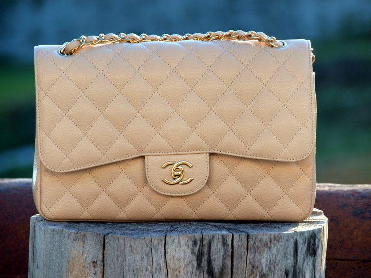 30a13730a17b Chanel beige clair caviar jumbo w/ghw | Chanel <3's in 2019 | Buy ...