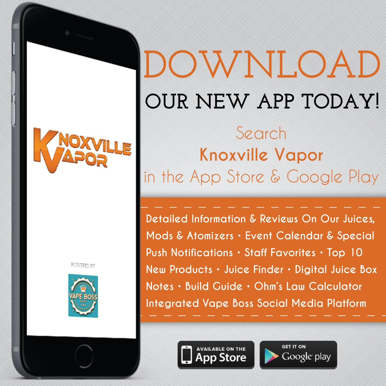 DOWNLOAD! Download our new app, today! Brought to you by